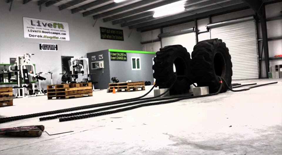 new port richey boot camp gym tires ropes