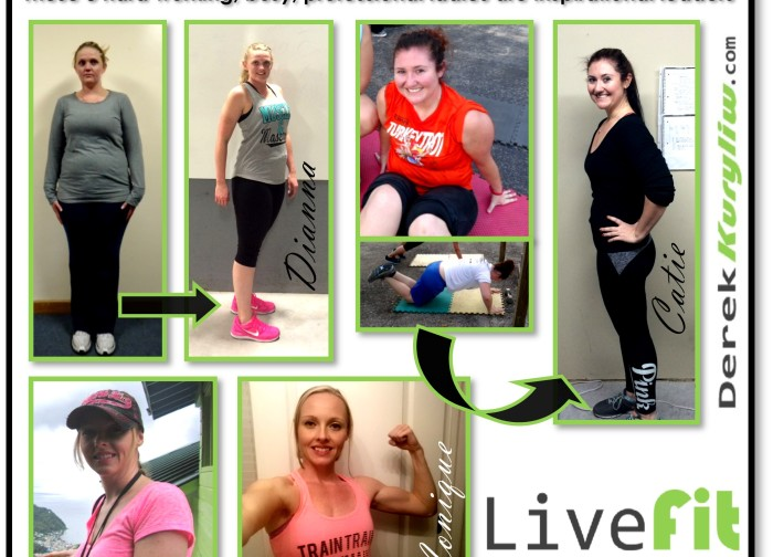 Transformation Tuesday ladies bootcamp success