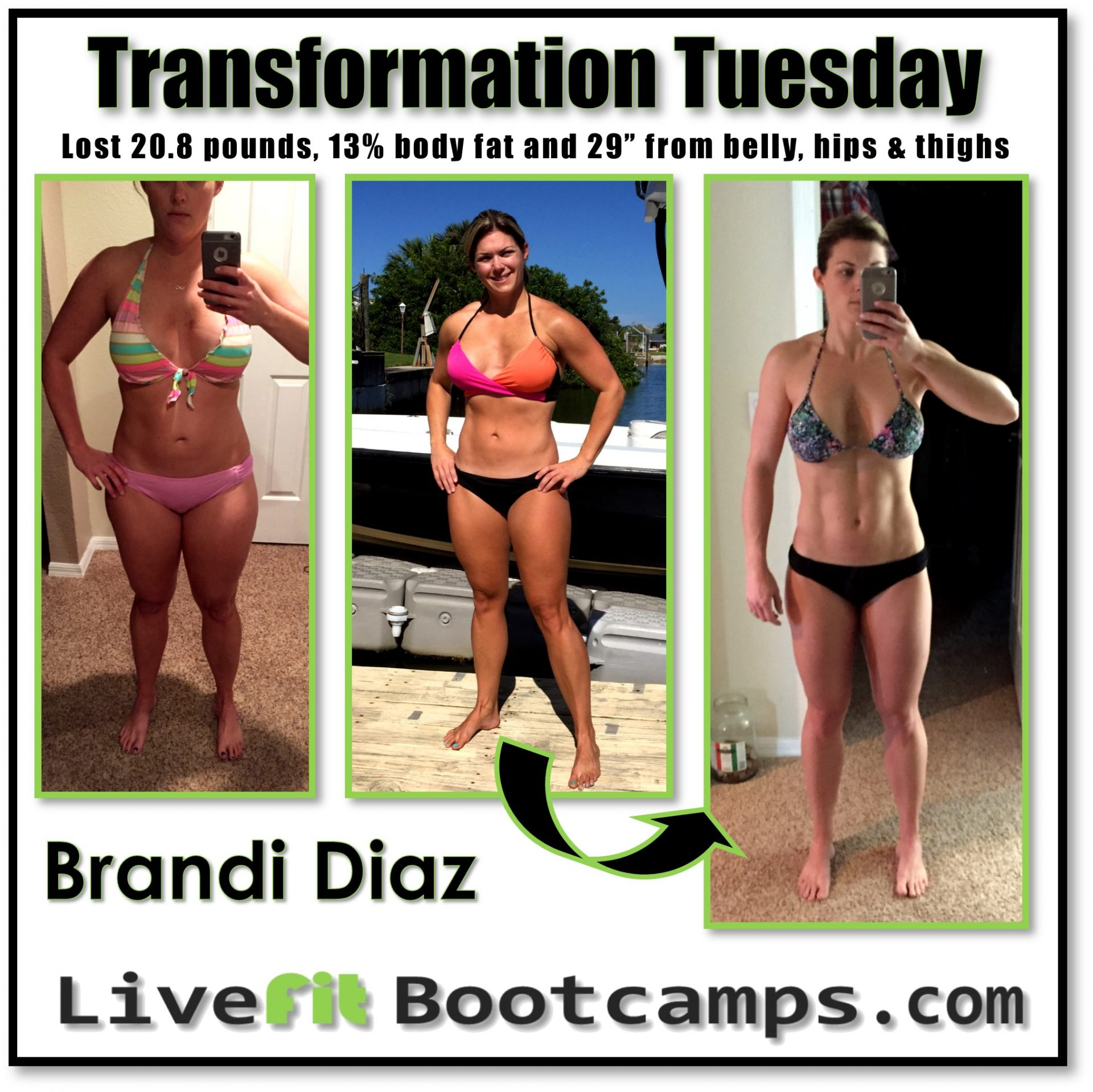 Brandi transformation tuesday success story mom before after picture