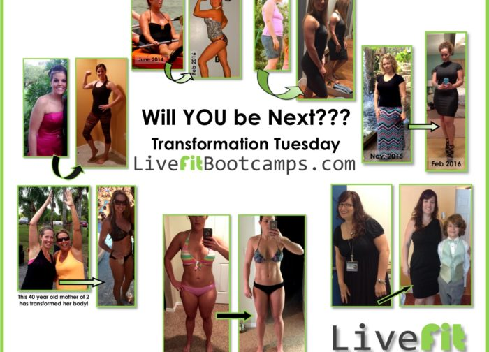 live fit bootcamp next transformation tuesday