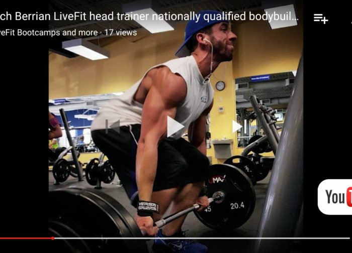 Rich Berrian LiveFit head trainer bodybuilder nationally qualified