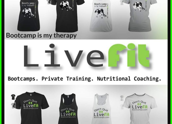 LiveFit Swag Store