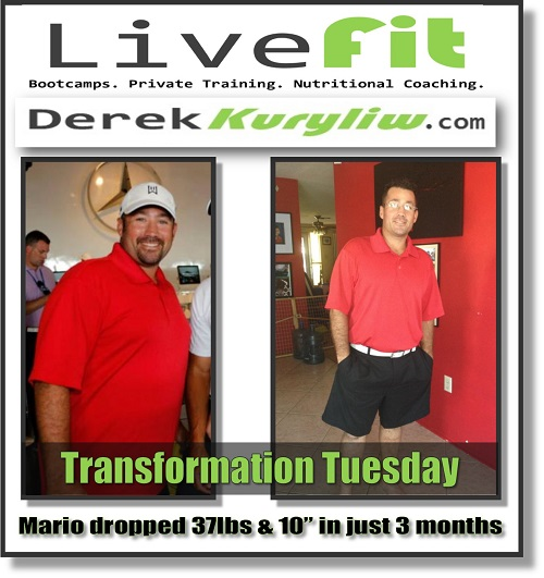 Success Story (37 pounds & 10″ in 3 months!)