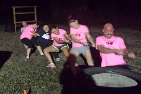 Adult Recess…The battle of Tug of War