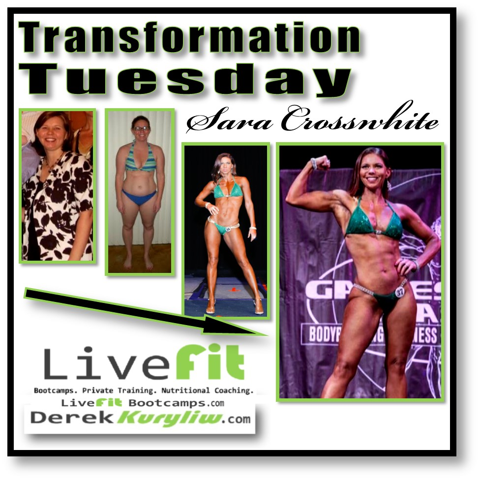 Sara Crosswhite transformation tuesday new port richey personal trainer bootcamp