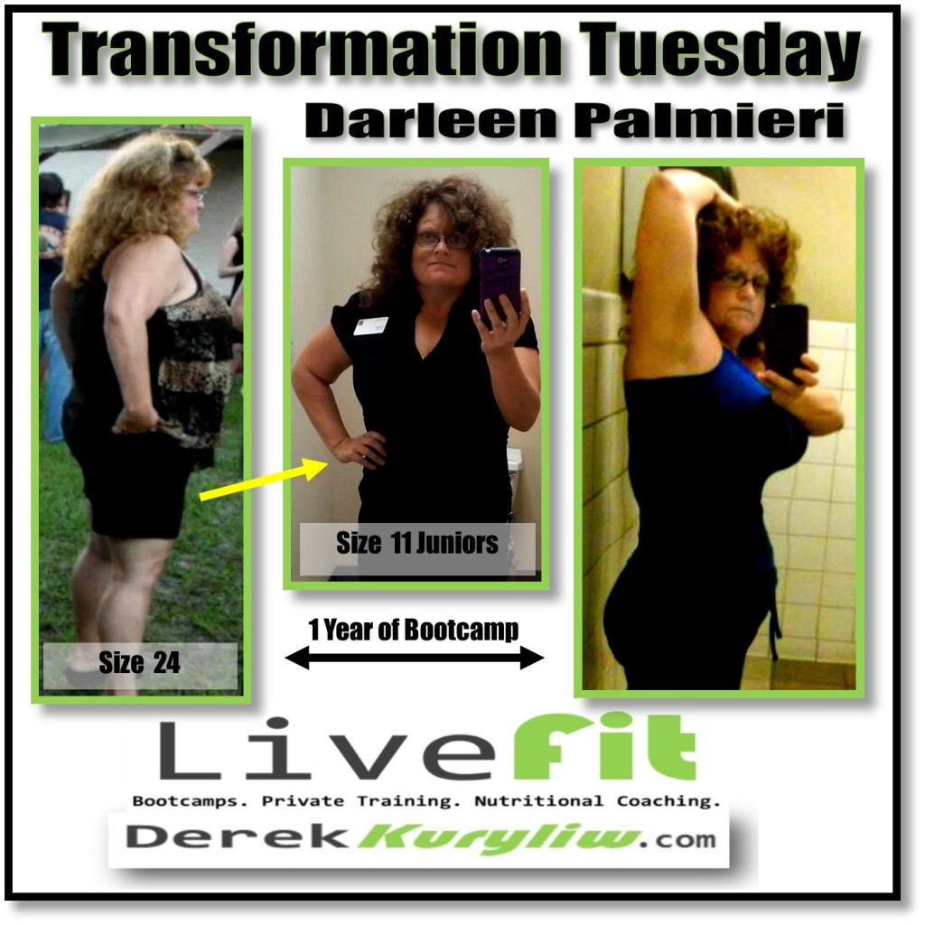 Darleen success story new port richey bootcamp transformation tuesday
