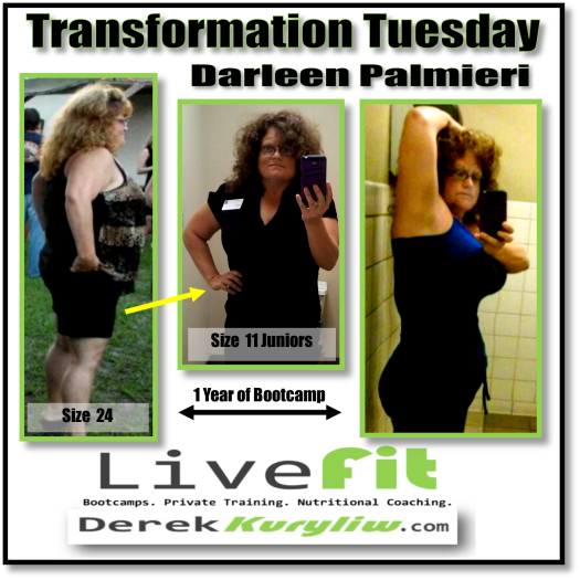 How I changed my body, my health and my life!! (Darleen's story)