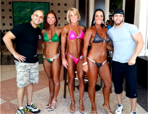 Team Live Fit Ladies bikini npc competition.jpg