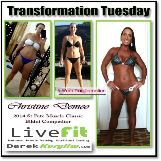 Don't talk about it, just do it! Christine Demeo's Journey