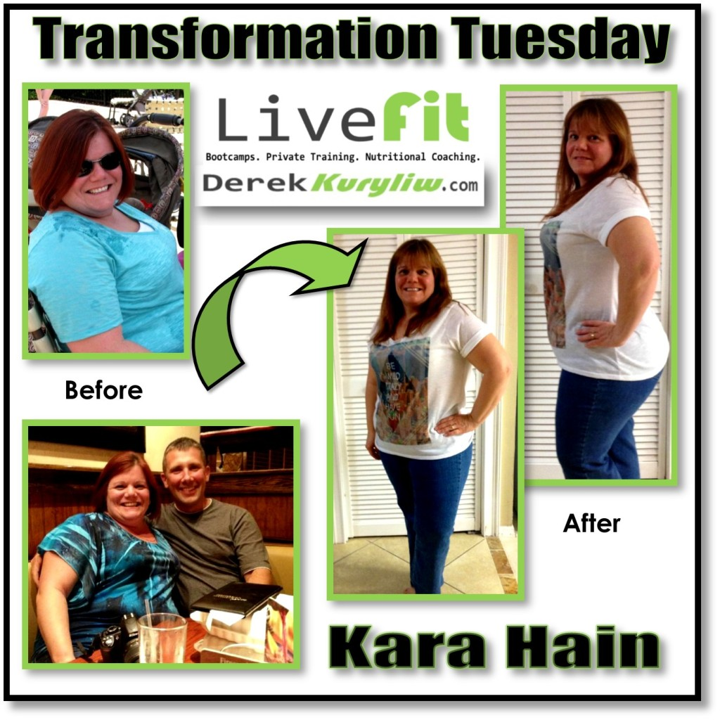 Kara New Port Richey Bootcamps fitness boot camp exercise success story