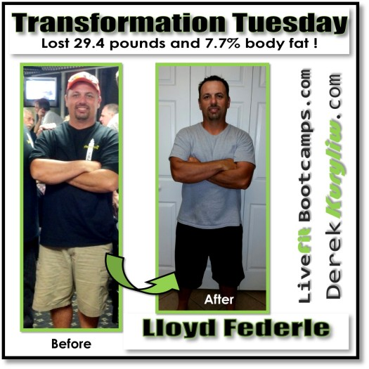 All it takes is making a change (Lloyd Federle's transformation story)