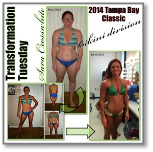 Sara Crosswhite transformation before and after pictures