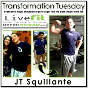 JT new port richey live fit boot camp success transformation