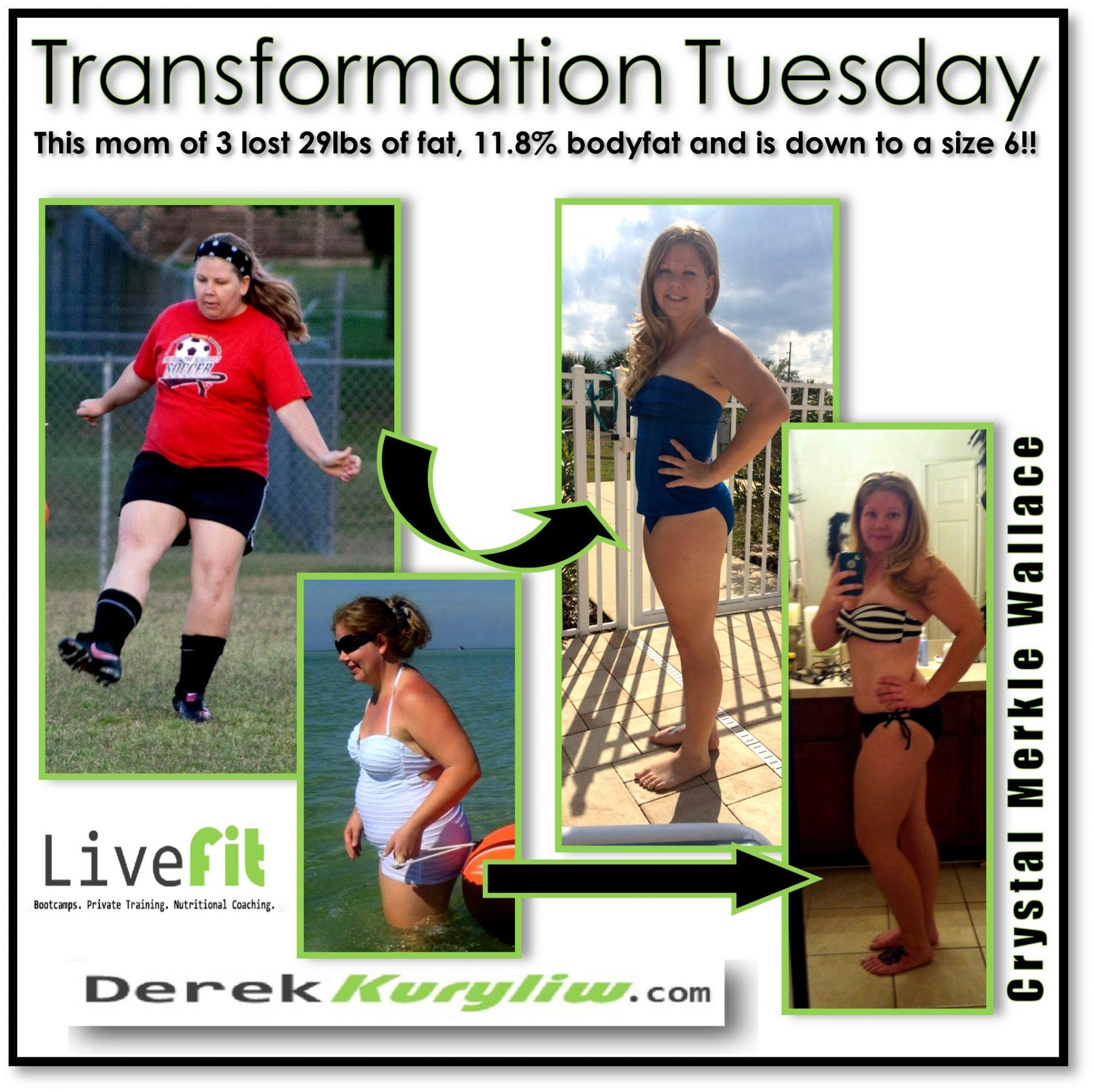 Mother of 3 finds HUGE success (don't just get fit, Live Fit!)