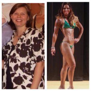 Sara Crosswhite personal trainer female mom success story