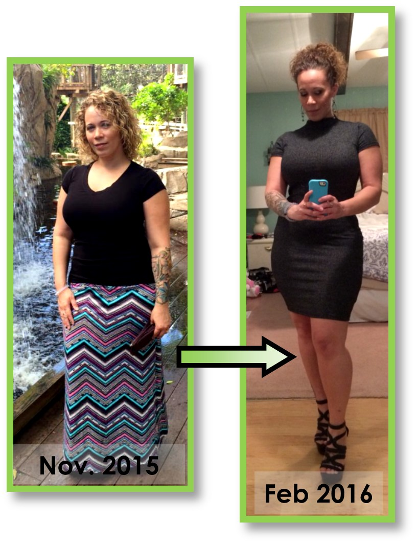 drops 24 pounds and turns heads 3 month