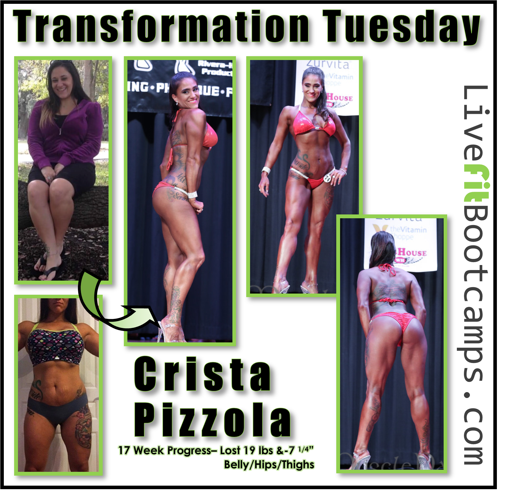 The Power of Your Team (Crista's Transformation)