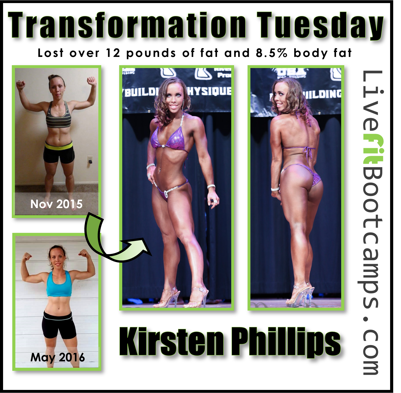 Kirsten's Bikini Transformation