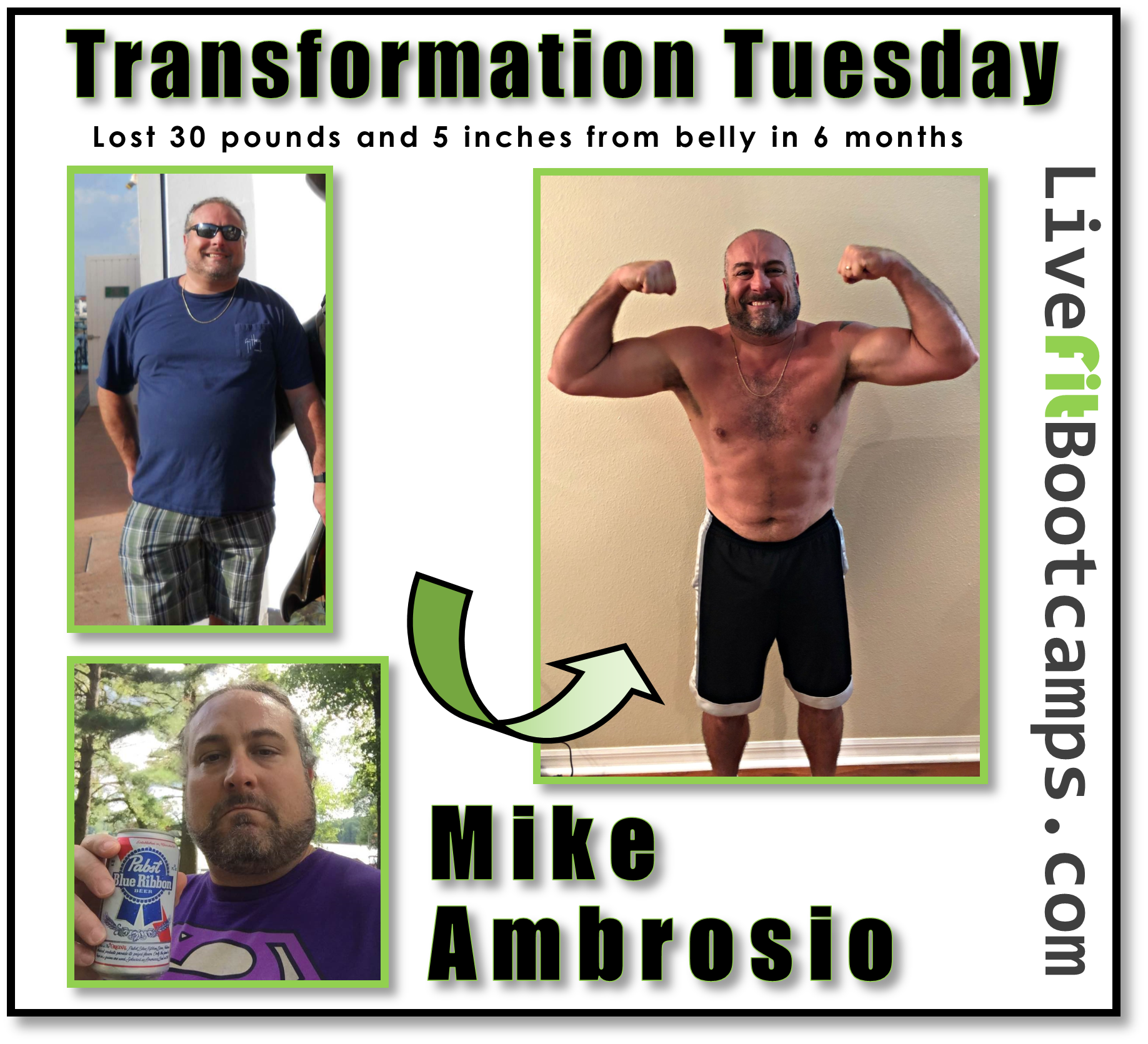 Down 30 in 6 (Mike's Transformation)