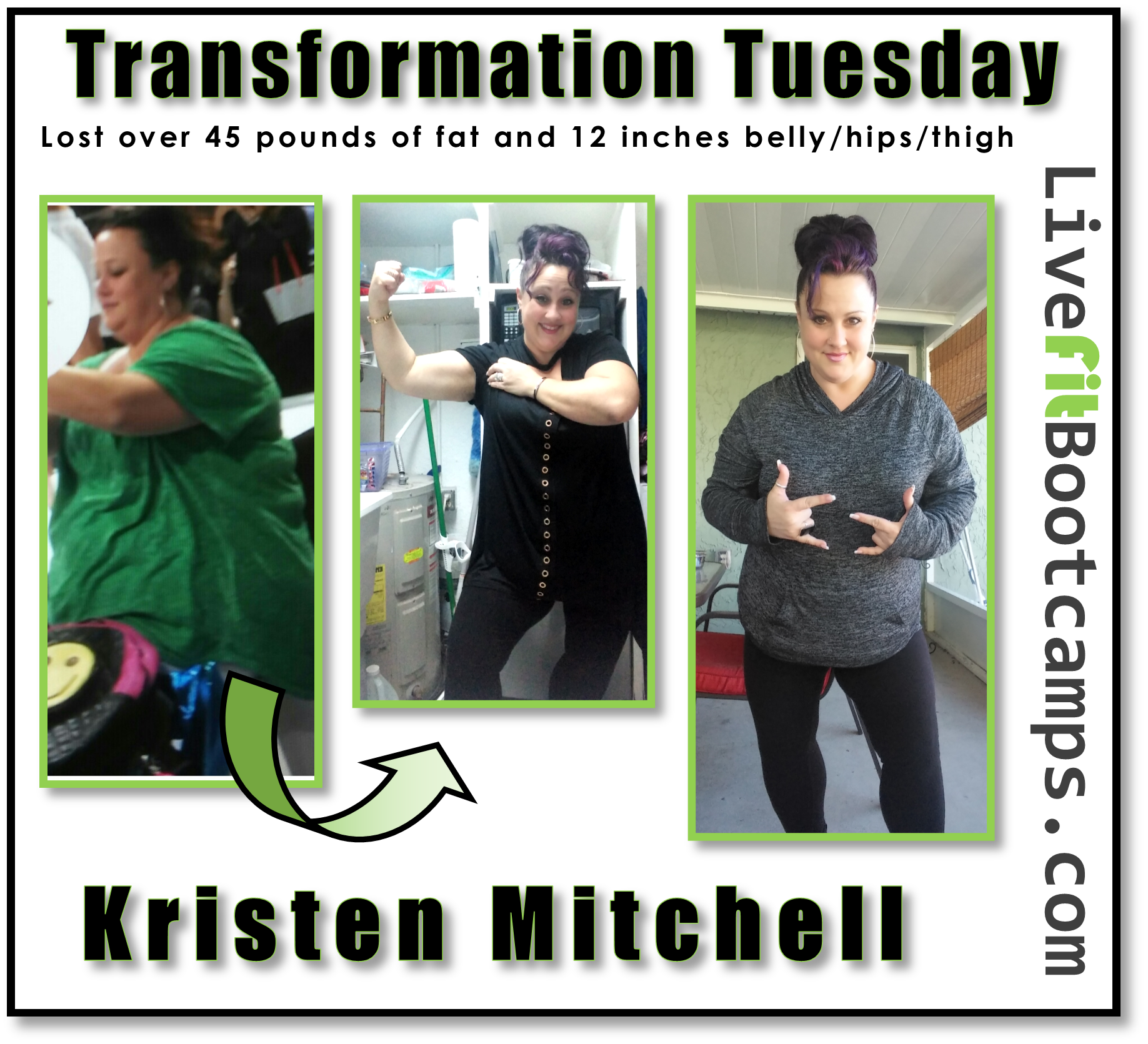 How I Dropped 45 Pounds in 6 Months (Kristen's Transformation)