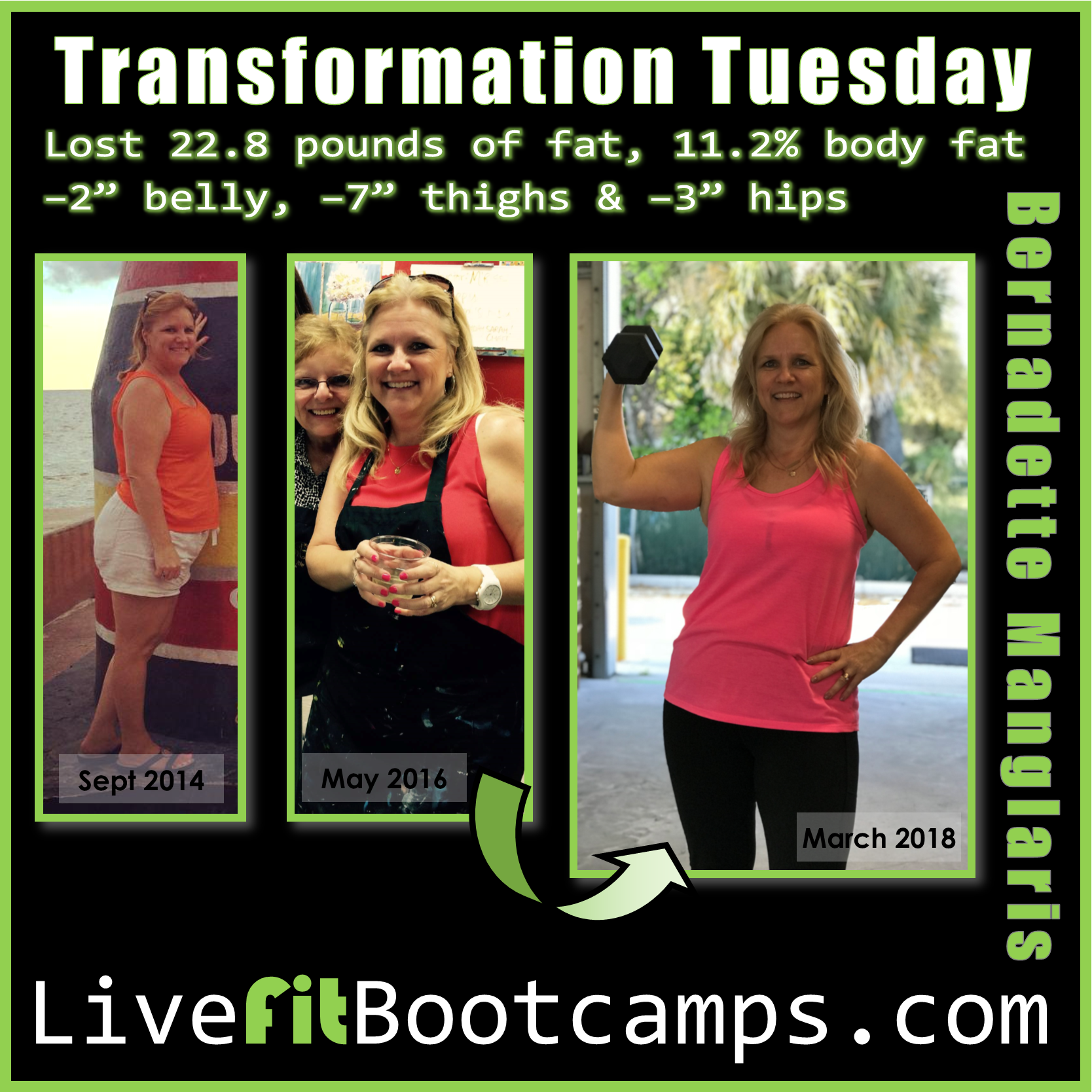 "Bootcamp is My ""ME"" Time (Bernadette's Transformation)"