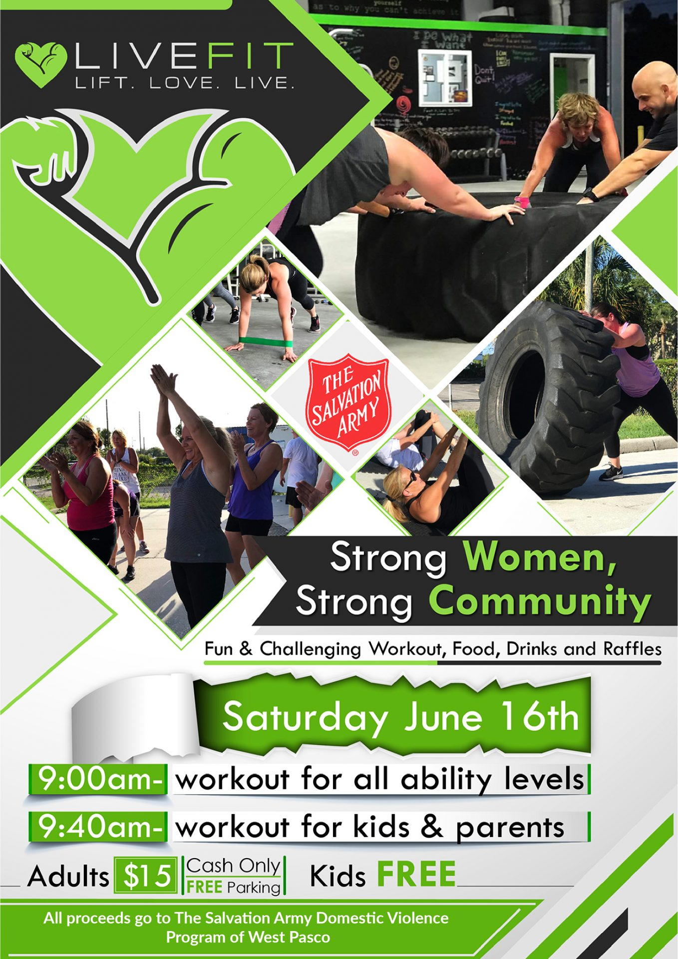 Strong Women, Strong Community (domestic violence fundraiser)