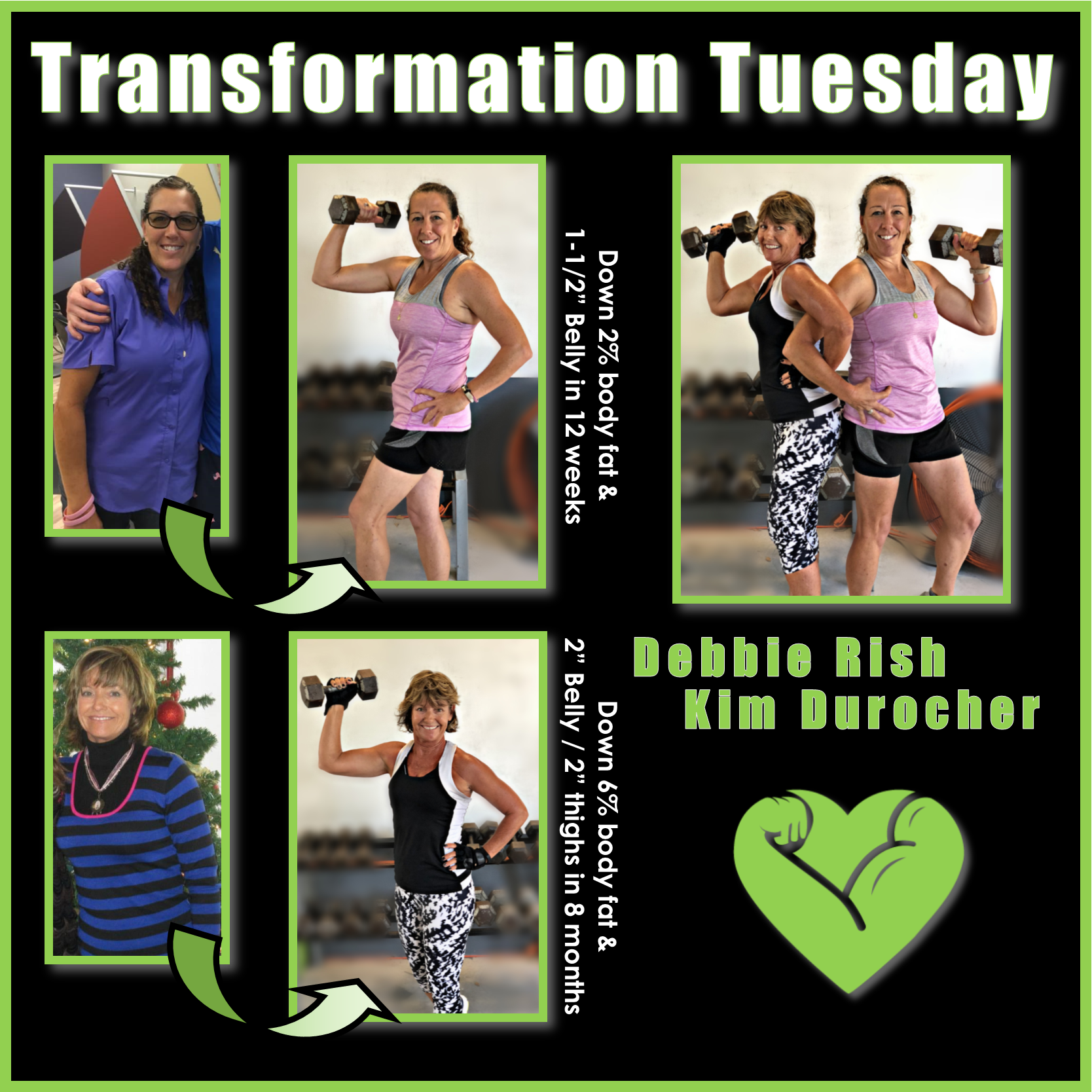 Kim & Debbie Transformation Journey