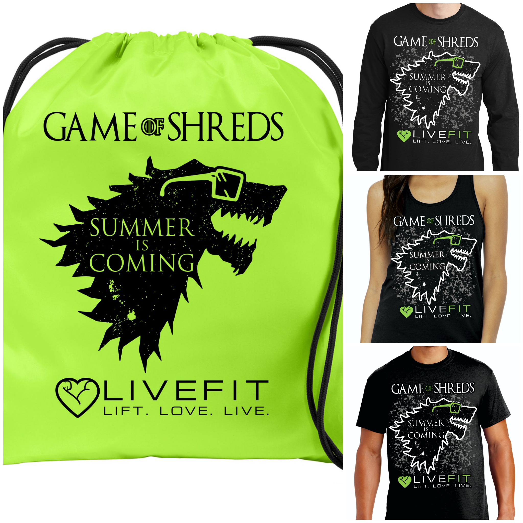 Game of Shreds Apparel