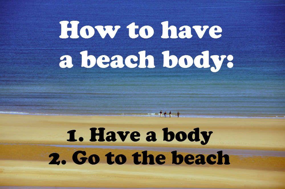 Weekend Beach Body (5 Simple Steps)