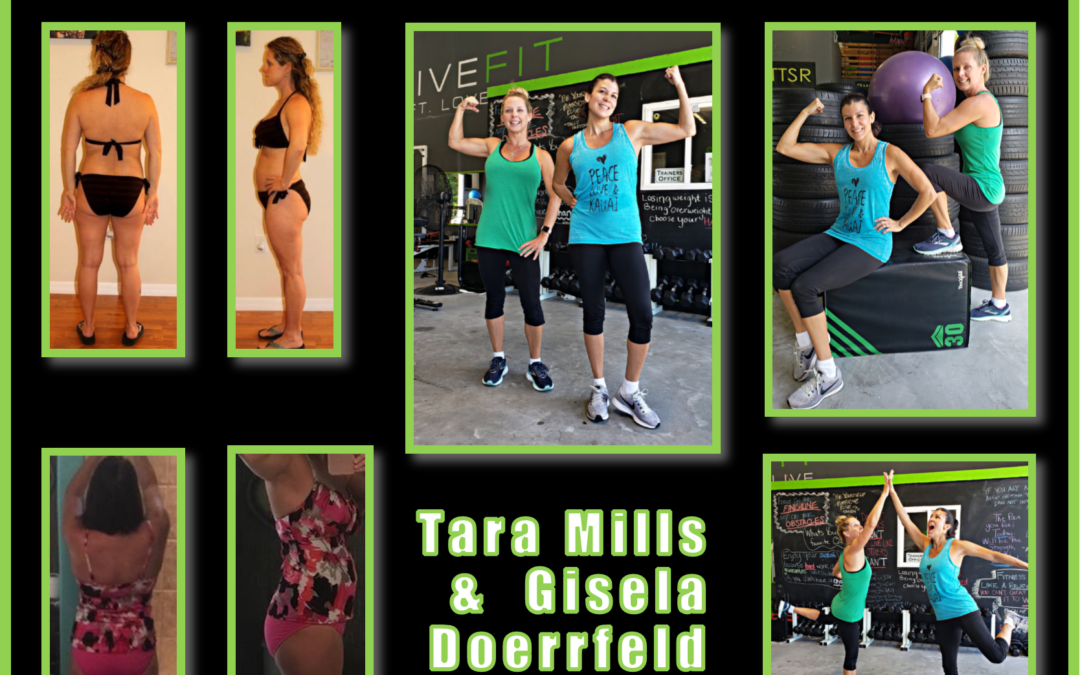2 Fit Moms | Tara & Gisela's Transformation