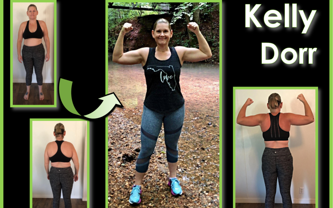 """Finally, I was on a journey to happiness."" Kelly Dorr Transformation Tuesday"