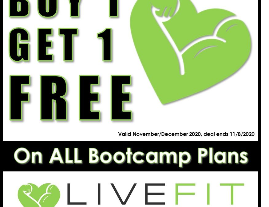 BOGO Bootcamp Sale